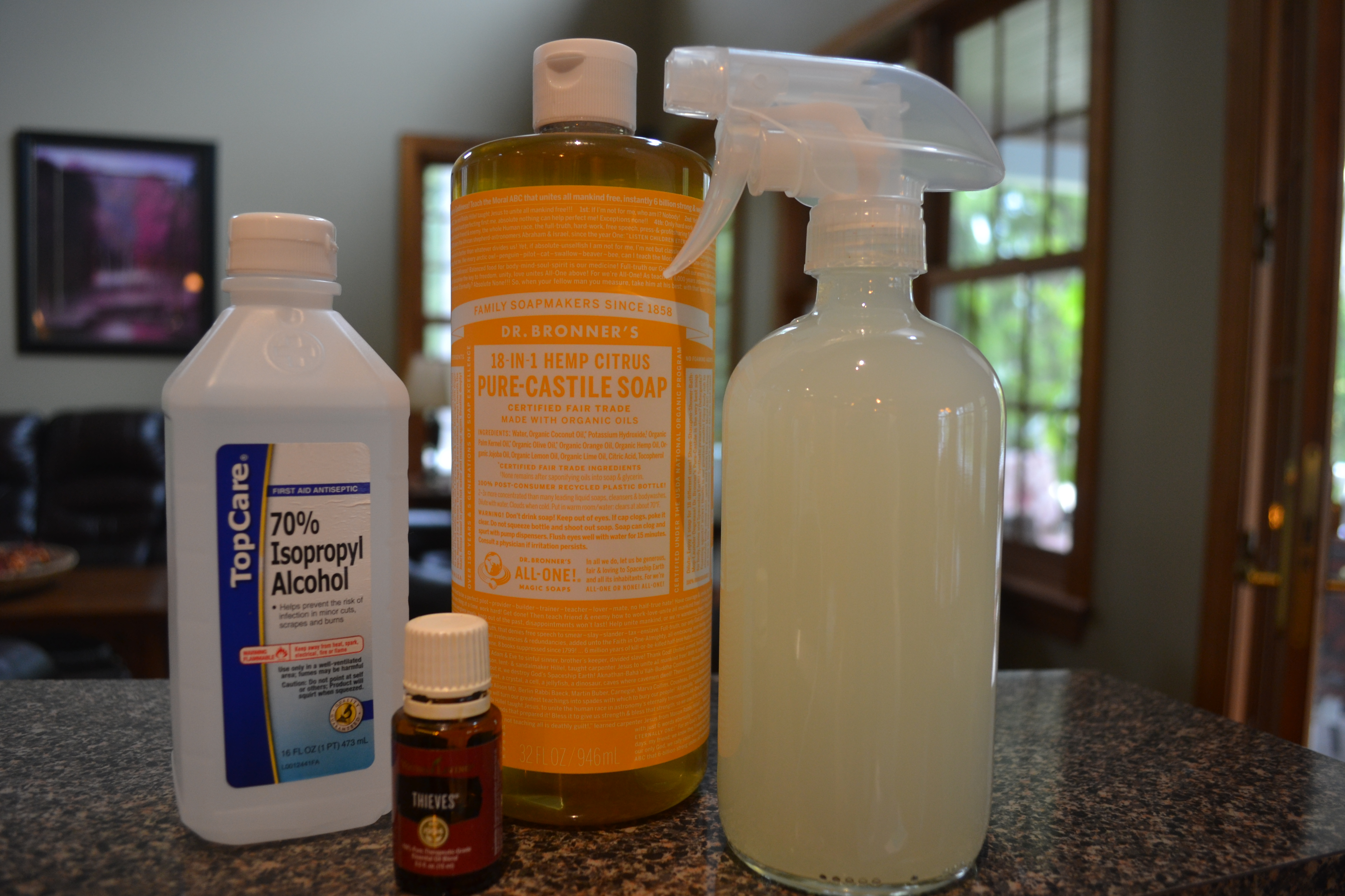 All Natural Disinfectant Cleaner Recipe – Clean Haven Maven